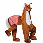 2 Man Pantomime Horse Full Body Funny Mascot Charity Fancy Dress Costume New