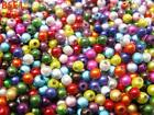 30g 4mm Miracle Acrylic Charms Crafts Loose Beads For Jewelry Making DIY Bangle