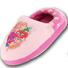 GIRLS SLIPPERS SIZES 8,9,10,11 LT PINK/FUSHIA MOSHI MONSTERS SUPERSEEDS