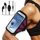 MYBAT Armband Samsung Nokia Sony Case Cover Running Jog Sports Mesh + Head Set