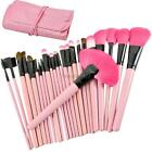 Pro Makeup Eyebrow Shadow Cosmetic Brush Sets Kit Soft Case ANY TYPES ItS7