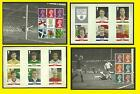 2013 Football Heroes Prestige Panes 1 to 4 from DY7 Prestige Booklet, mint nh