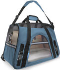 OxGord Pet Carrier Soft Sided Cat / Dog Comfort Travel Tote Bag Airline Approved <br/> #1 Seller - Paws &amp; Pals - New Design - 10,000 Sold