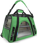 OxGord Pet Carrier Soft Sided Cat / Dog Comfort Travel Tote Bag Airline Approved