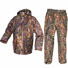 Jack Pyke Waterproof Field Smock & Hunter Trousers Oak Camo Hunting Fishing