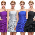 Homecoming Prom Party Wedding Evening Bridesmaid Cocktail Formal Dress Short