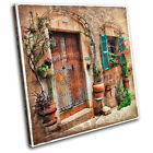 Mediterranean Vintage SINGLE CANVAS WALL ART Picture Print VA