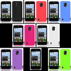 ZTE Majesty Z796c (StraightTalk) Phone Cover Case SILICON SKIN +SCREEN PROTECTOR