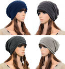 Men & Women Chic Stretchy Warm Slouchy Knit Ski Beanie