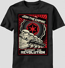 Star Wars Join the Empire Revolution Poster Imperial Storm Trooper T-shirt top
