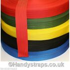 "5 meter x 50mm colour Polypropylene 2""  Herringbone Webbing In Various Colours"