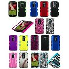 For LG Optimus G2/LS980/D801 D800 AT&T T-Mobile Sprint Hard Cover Tuff Case