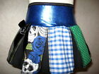 NEW Goth,Punk,Black,White,Blue,Green  mixed skulls,spots,Check Skirt-All sizes