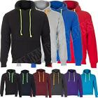 New Mens Ladies Neon Strings Pullover Hooded Hoodie Sweatshirt Size S M L XL XXL