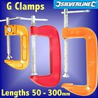 G CLAMPS 50 100 150 200 250 300mm woodwork model craft picture bench mini weldin