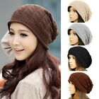 Hot Sell Women Winter Warm Knitted Crochet Slouch Baggy Beret Beanie Hat Cap