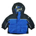 Faded Glory Infant Boys Double Blue 3 In 1 Outerwear Coat Size 12M 18M 24M
