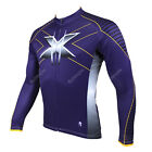 Hot Wolverine Men Long Sleeve cycling jersey bicycle bike clothing Apparel CX17
