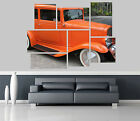 Chevy Car Self Adhesive Wall Picture Poster Not Canvas