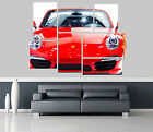 porsche Car Self Adhesive Wall Picture Poster Not Canvas