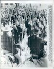 1961 French Cowboys of Canargue Region Pres Charles DeGaulle Visit Press Photo