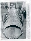 1962 Oakland CA Man Builds Own Jet Engine Race Car  Press Photo