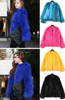 Luxury Ladies Vintage Candy Warm Comfy Faux Fur Women's Party Casual Coat Jacket