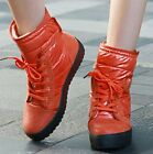 Womens Real Leather Lace Up Velcro Hi Top Sneakers Trainers Ankle Boots Shoes