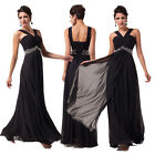 Graceful Charm Long Ladies Ball Homecoming Formal Gown Prom Evening Party Dress