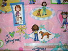 More Girls designs Lizzie McGuire Holly Hobbie etc cotton quilt fabric *Choose!