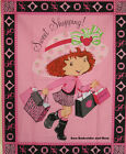 Strawberry Shortcake girl large panel cotton quilting fabric *Choose favourite!