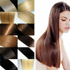 """20"""" AAAA Wigs Clip in Hair Straight Remy Real Human Hair Extensions Full Head"""