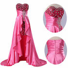Sexy Long Sequins Womens Wedding Bridesmaid Formal Ball Prom Party Evening Dress