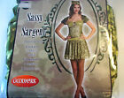 Sassy Sargent Army Dress Adult Costume 4-6 8-10 12-14 NIP