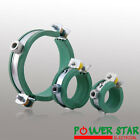 Rubber lined water hose steel pipe clips commercial EPDM clamps 25,40,90mm