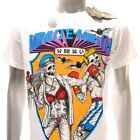 m293w Minute Mirth T-shirt Sz S M L XL Tattoo Skull Wrestle Boxing Stage Fight