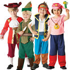 Child Disney Fancy Dress Costume New Pirate Kids Outfit Boys Girls Book Week