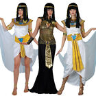 Adult Ladies Cleopatra Fancy Dress Costume Egyptian Queen Sexy Princess Womens
