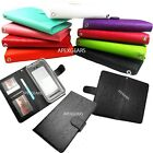 "Universal 4"" Wallet Pouch Slide Up Flip Cover Case Accessory Protector"