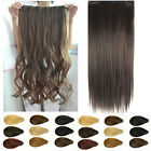 """80 Styles salon sexy new long full head hair extensions 8pcs clip in set 24"""" 26"""""""