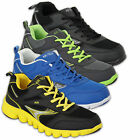 Mens Trainers Air Tech Shoes Jogging Walking Lace Up Sports Gym Mesh Casual New