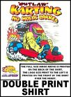 MONSTER OUTLAW KART RACING NO HOLDS BARRED GO KARTING T-SHIRT 11G63