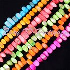 """8-13mm Freeform Shell Gemstone Beads For DIY Jewelry Making Spacer Beads 15""""/Lot"""