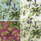 NEW LUXURY P&S INTERNATIONAL TROPICAL EXOTIC BIRDS TREES LEAVES WALLPAPER ROLL