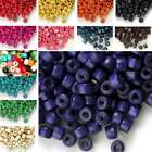 1000pcs Wooden Wood Loose Donut Spacer Beads Charms Jewelry Findings 3x4mm