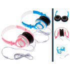 Kids Small Boy Girl Childrens DJ Style Folding Headphones fits Kurio 7S Tablet.