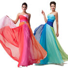 Women New Full Length Long Evening Dress Prom Party Bridesmaid Gown Formal Dress