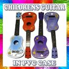 Kids Childrens Plastic Toy Music Guitar Musical Instrument PVC Carry Case TY911