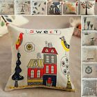 New Rustic Pattern Pillow Case Square Pillowslip Back Cushion Cover M2406