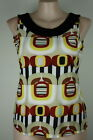 New-ELEGANT Funky/Bold/DRESSY Abstract TOP Size M - L - XL